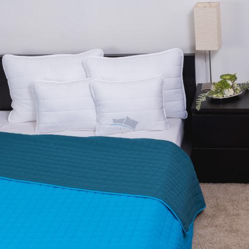 Naturtex Laura microfiber ágytakaró 235x250 cm/ türkiz-kék