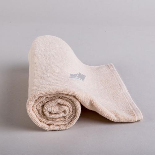 Frottír törölköző/ bézs  50x100 cm