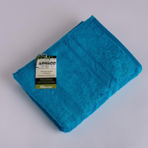 Naturtex Bambuszos törölköző / türkiz kék 50x100